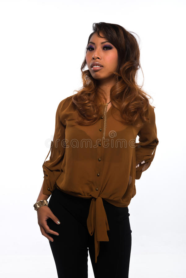 Download Cambodian stock photo. Image of cambodian, petite, female - 28283034