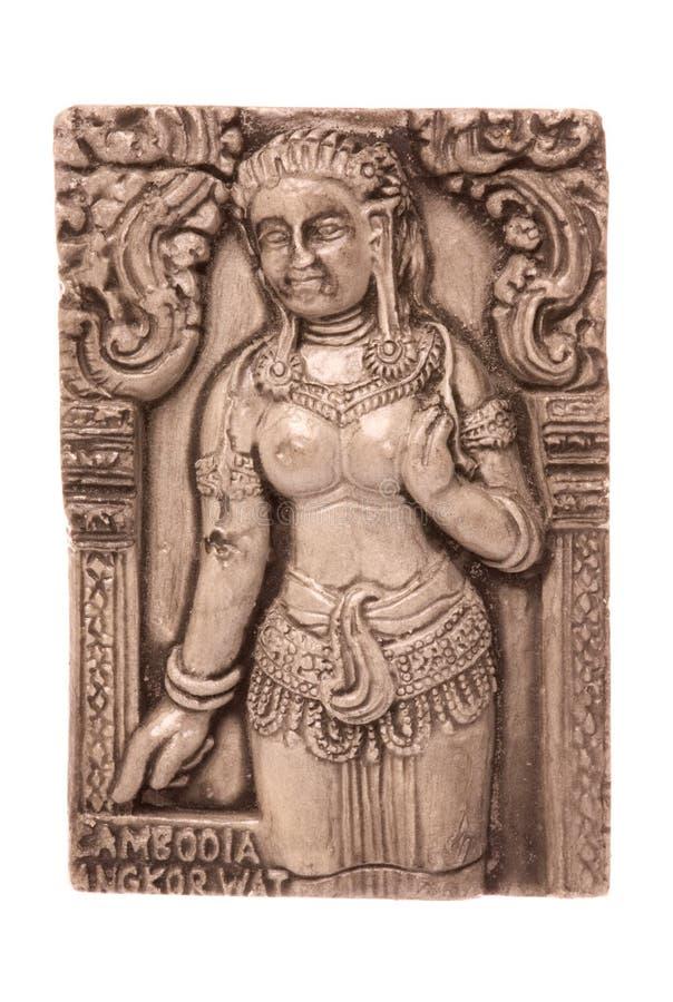 Download Cambodian Art Isolated stock image. Image of macro, bayon - 11339345
