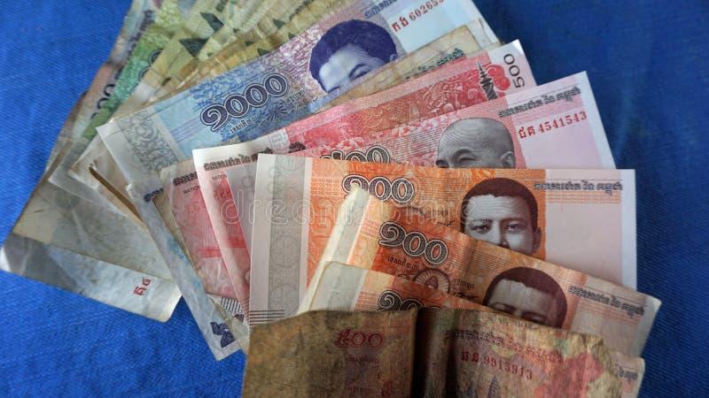 Cambodian bank notes stock photo  Image of image, vacation