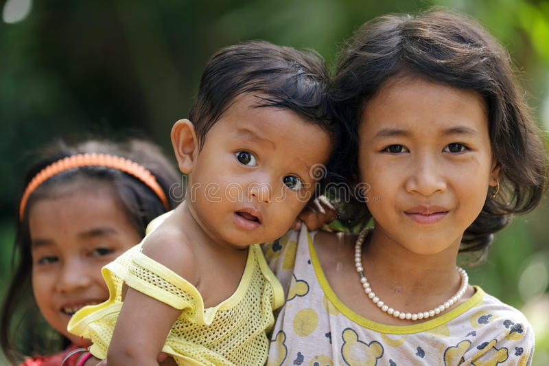 Download Cambodian kids editorial stock image. Image of happy - 40314734