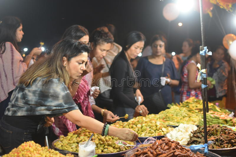 Cambodian sour fruits stock image