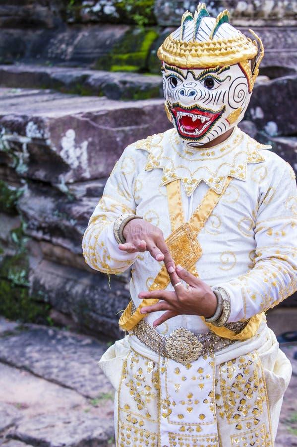 Cambodians Apsara tancerze fotografia stock