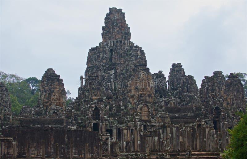 Cambodja Angkor Thom royaltyfri foto