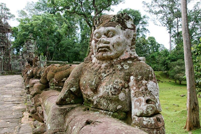 Cambodja Angkor Wat royaltyfria bilder