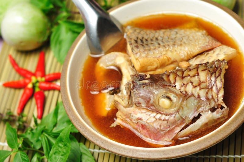 Cambogia van Garcinia de vissen koken stock foto