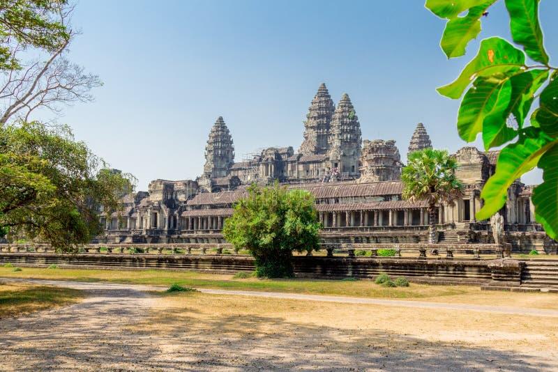 Camboja, parque arqueológico de Angkor foto de stock