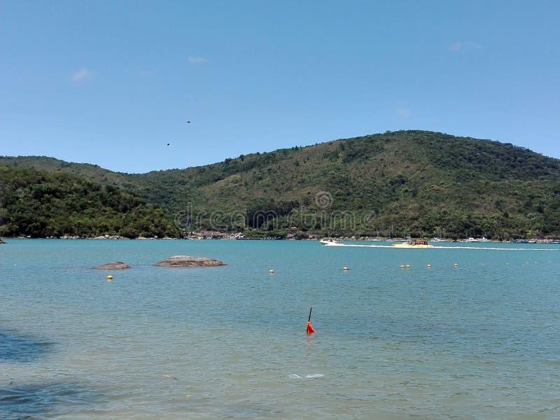 Camboriu brazil beach. Nature travel royalty free stock image