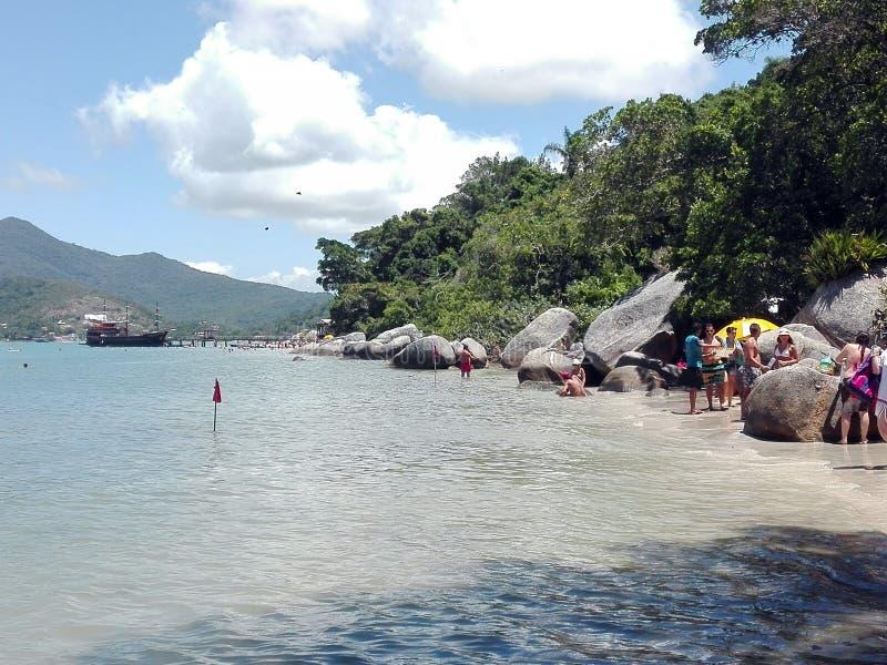 Camboriu brazil beach. A travel vacation stock photo
