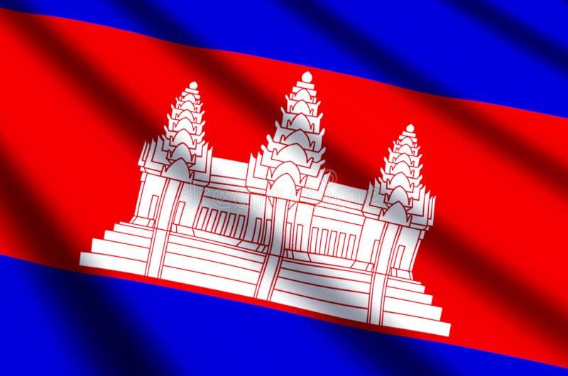 camboya ilustración del vector
