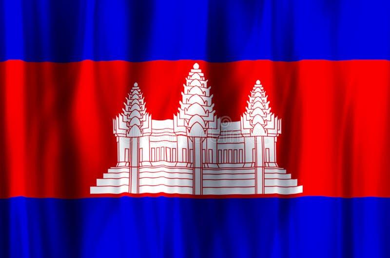 camboya stock de ilustración