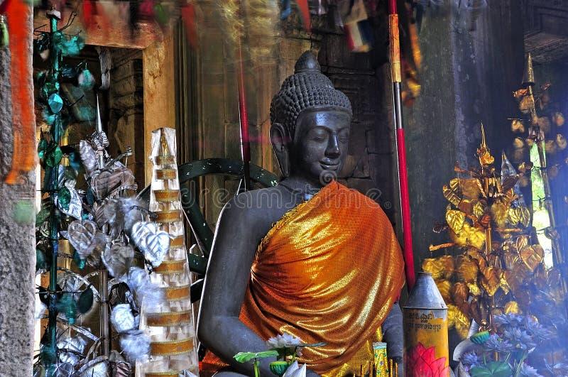 Camboya, Angkor: El Preah Khan fotografía de archivo libre de regalías