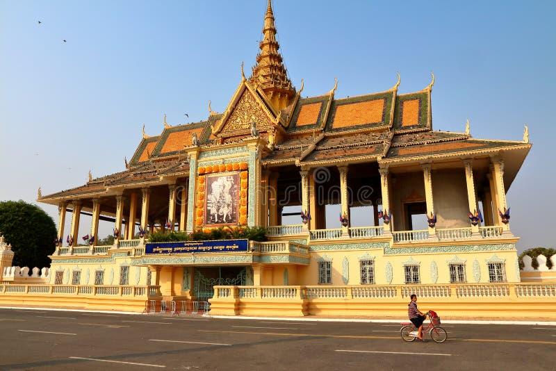 Camboya Royal Palace imagenes de archivo