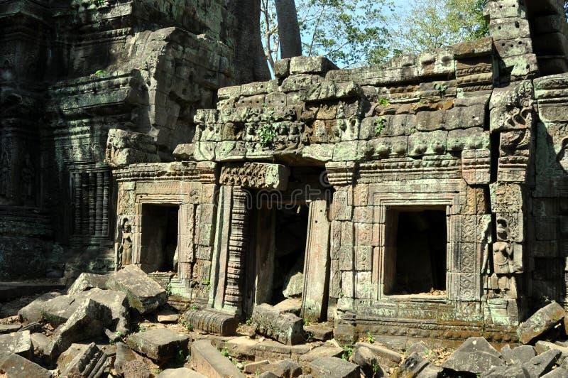 Camboya - templo de TA Prohm fotografía de archivo libre de regalías
