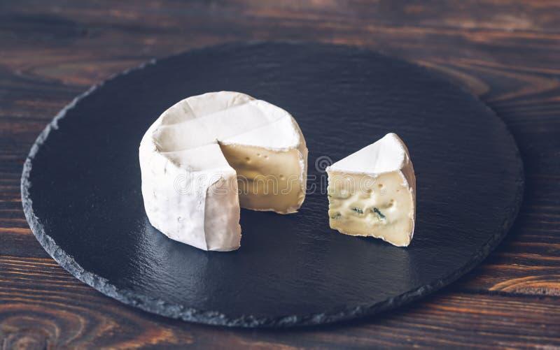 Cambozola ser w górę zdjęcie royalty free