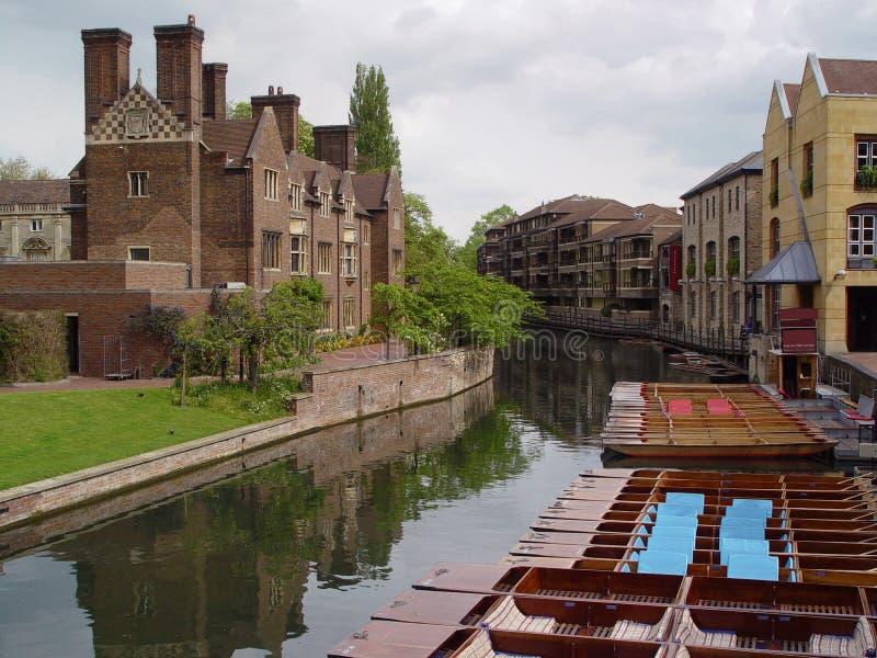 cambridge Англия стоковая фотография rf