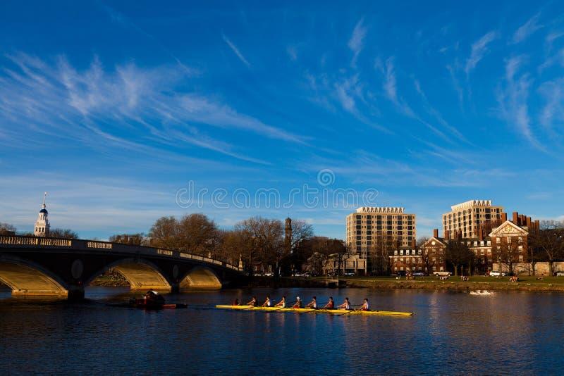Cambridge in Boston stockbild