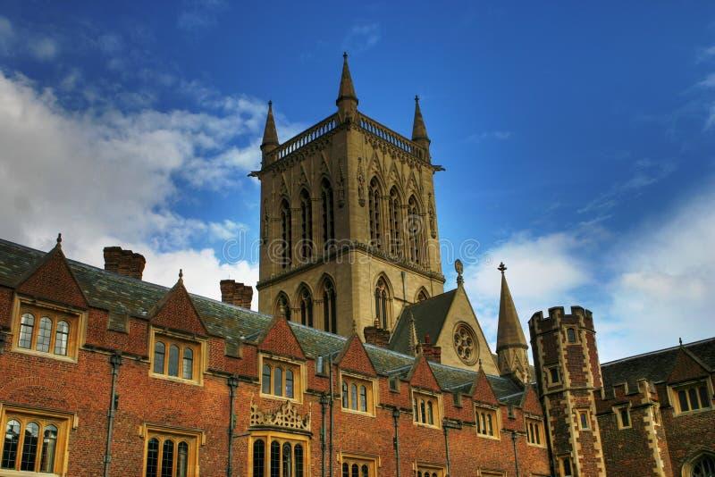 cambridge college ' u fotografia royalty free