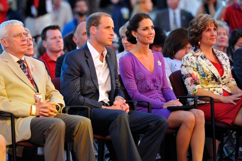 cambridge duchess diuk obrazy royalty free