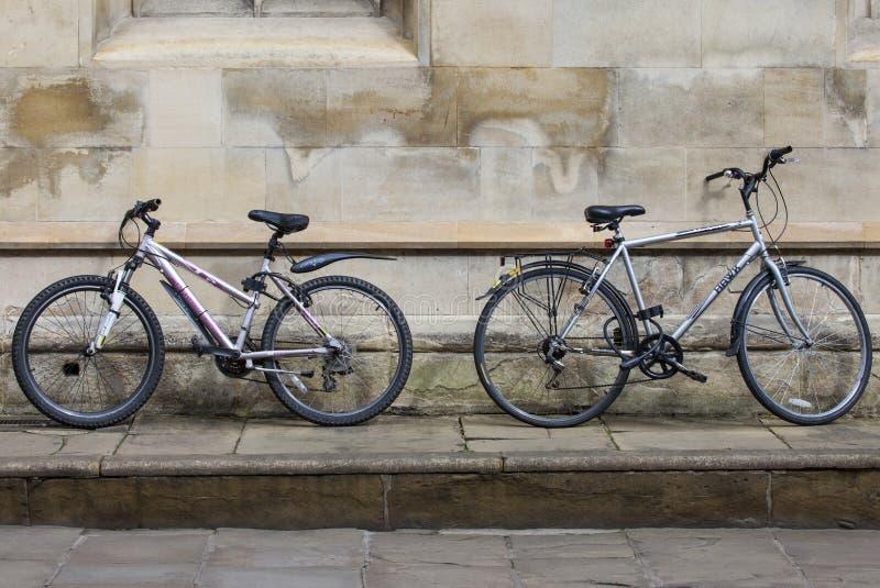 Cambridge-Fahrräder lizenzfreie stockfotos