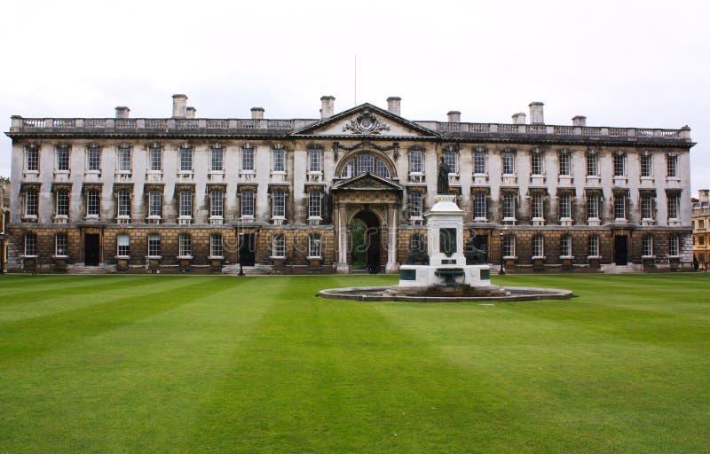 cambridge högskolakonung s royaltyfri fotografi