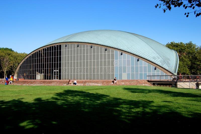 Cambridge, mA: Auditorio de Kresge en M.I.T. fotos de archivo libres de regalías