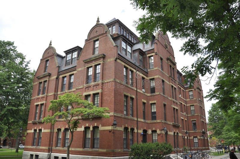 Cambridge mA, el 30 de junio: Edificio de Pasillo de la soldadura de Harvard del campus de Harvard en el estado de Cambridge Mass fotos de archivo libres de regalías