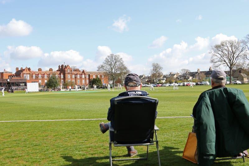 Cambridge MCCU v Essex imagens de stock royalty free