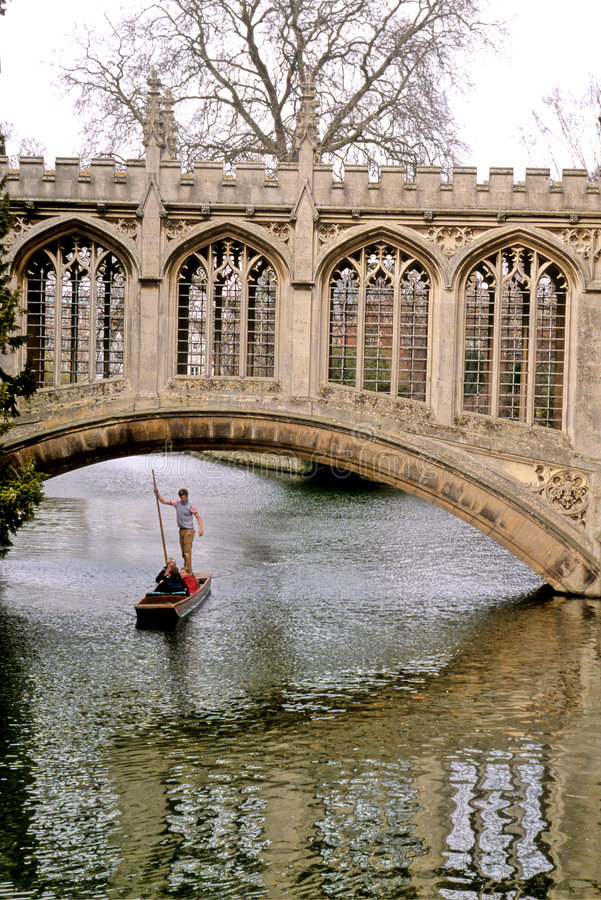 Cambridge mostu zdjęcie royalty free
