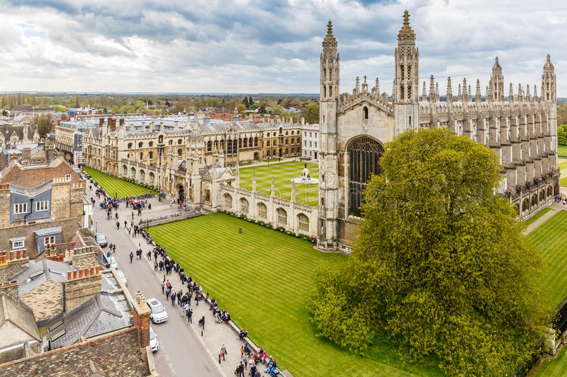 Cambridge in spring. England, UK royalty free stock image