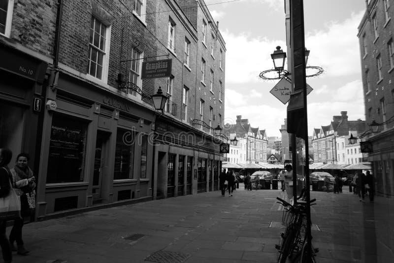 Cambridge stad arkivfoto