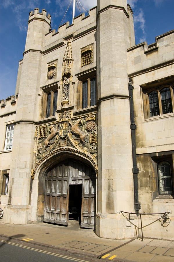 cambridge szkoła wyższa Christ s obraz royalty free