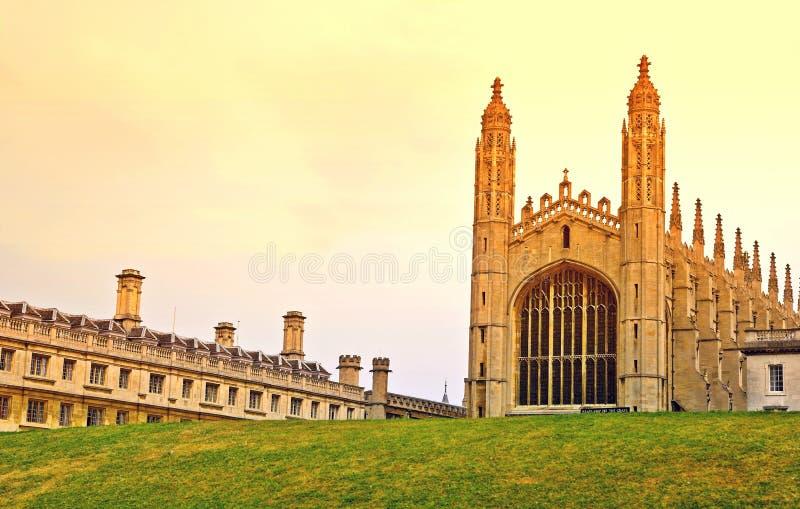 cambridge universitetar royaltyfri fotografi