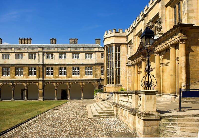 cambridge universitetar royaltyfria foton