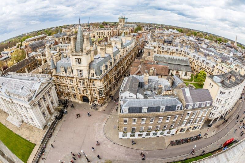 Cambridge w wiośnie zdjęcia stock