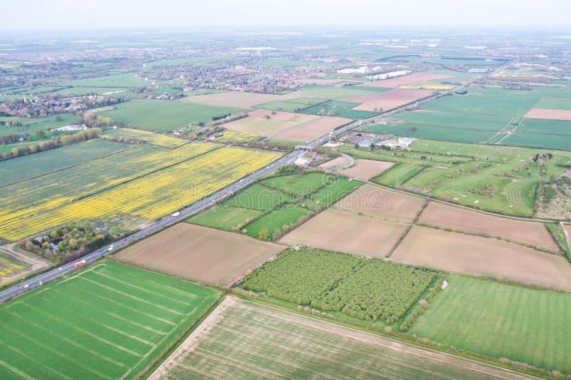 Download Cambridgeshire image stock. Image du above, aérien, horizontal - 45356031