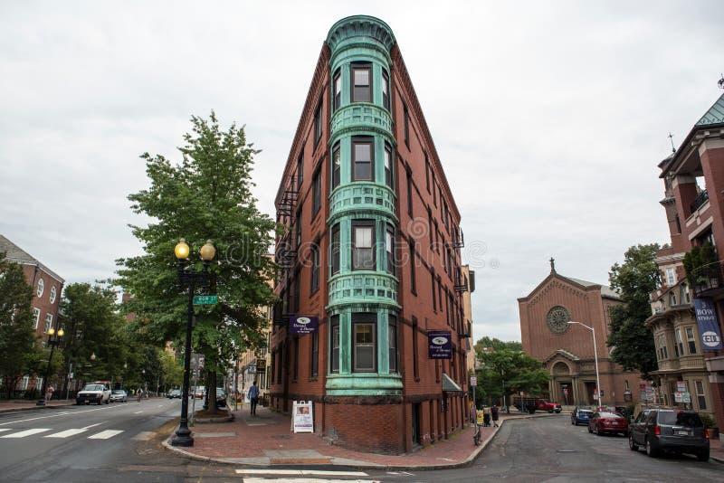 cambrige Massachusetts ulica obrazy royalty free