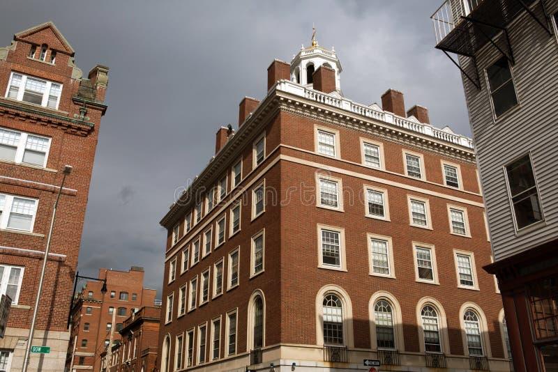 cambrige Massachusetts ulica zdjęcie stock