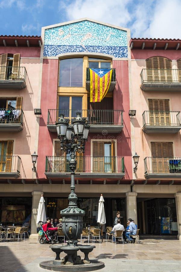 Cambrils Catalonia, Spanien arkivbild
