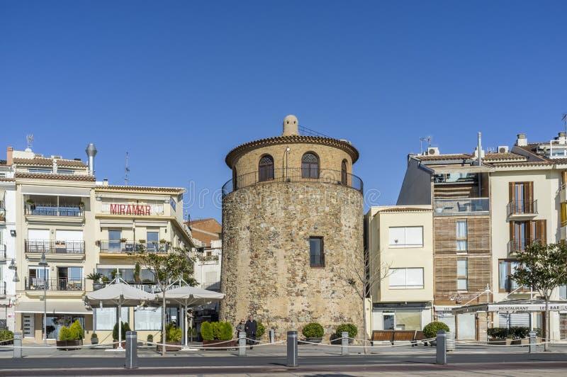 Cambrils,Costa Dorada,Spain. royalty free stock photo