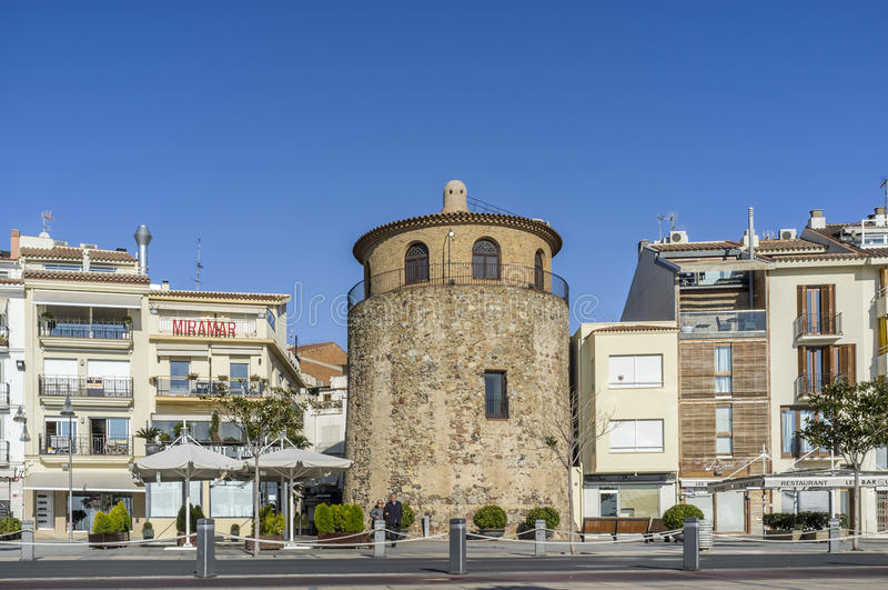 Cambrils Costa Dorada, Spanien royaltyfri foto