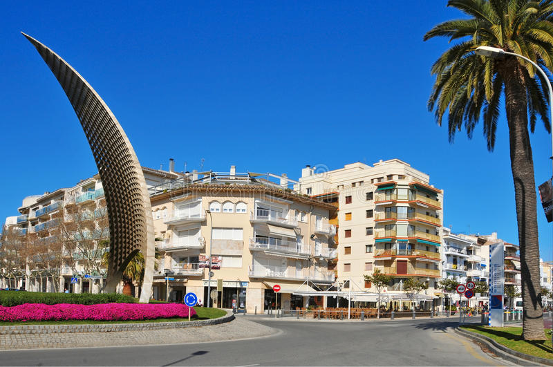 Cambrils, Spain stock photography