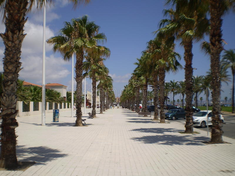 Cambrils royalty free stock photo