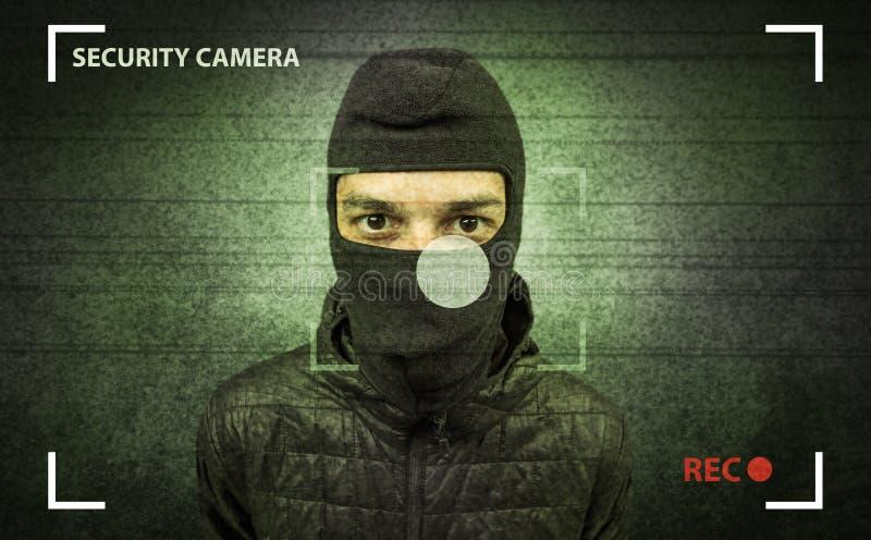 Cambrioleur dans l'action images libres de droits