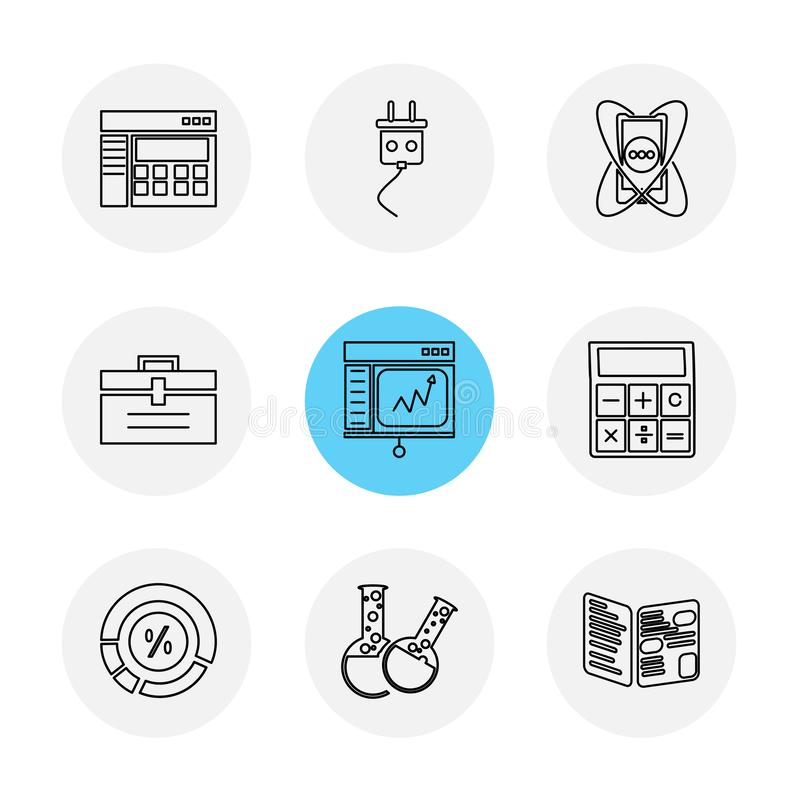 camcoder,照相机,录影,多媒体,计算机,设置, ep 向量例证