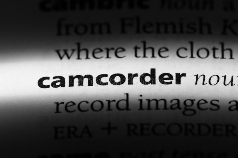 camcoder fotografia royalty free