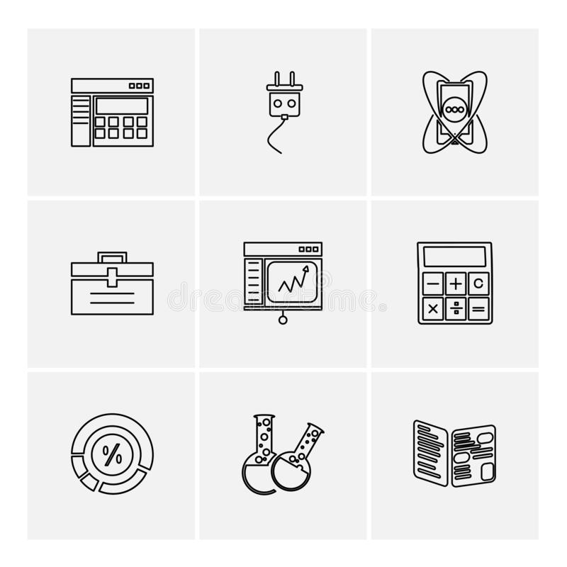 camcoder , camera , video , multimedia , computer , setting , eps icons set vector royalty free illustration