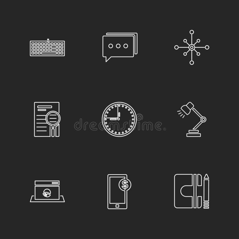 camcoder , camera , video , multimedia , computer , setting , eps icons set vector vector illustration