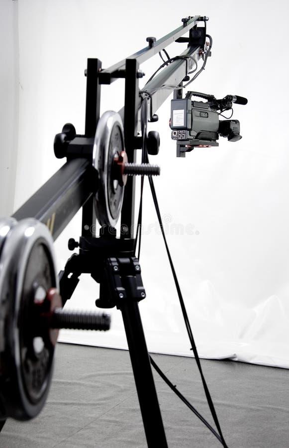 camcorder γερανός dv στοκ εικόνες με δικαίωμα ελεύθερης χρήσης