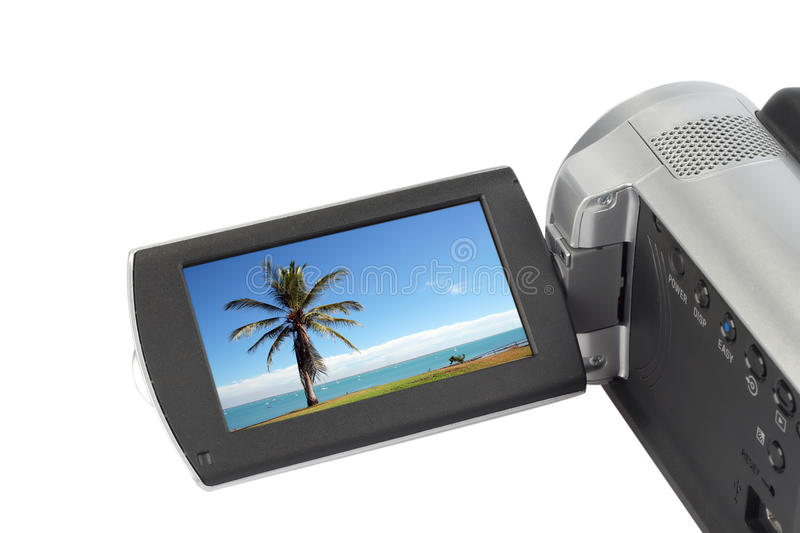 camcorder φωτογραφική μηχανή στοκ φωτογραφίες με δικαίωμα ελεύθερης χρήσης