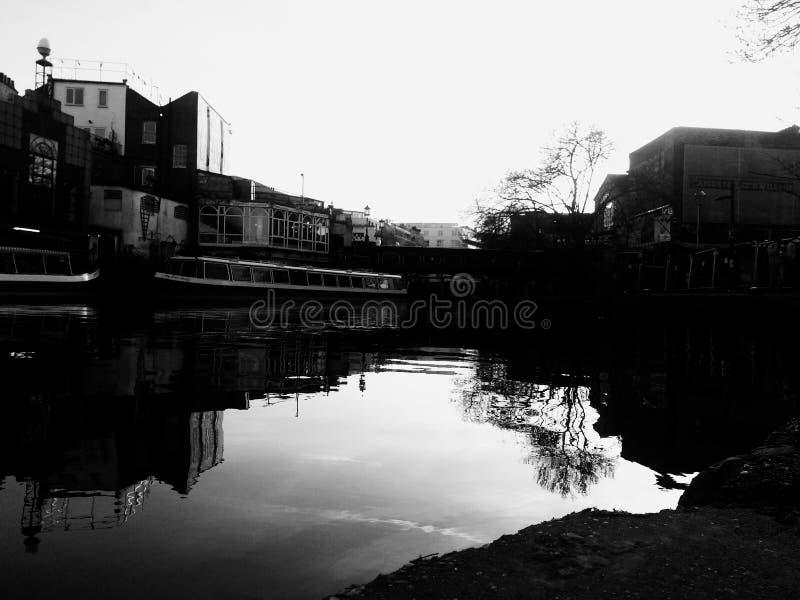 Camden Canal royalty-vrije stock fotografie